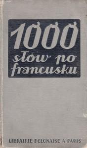 1000 słów po francusku