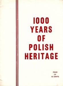 1000 years of Polish Heritage