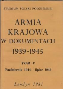 Armia Krajowa w dokumentach t.5