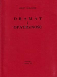 Garliński Dramat i opatrzność '78