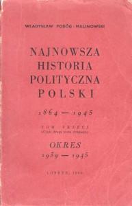 Pobóg-Malinowski, Najnowsza historia..., t. 3_2, 1960