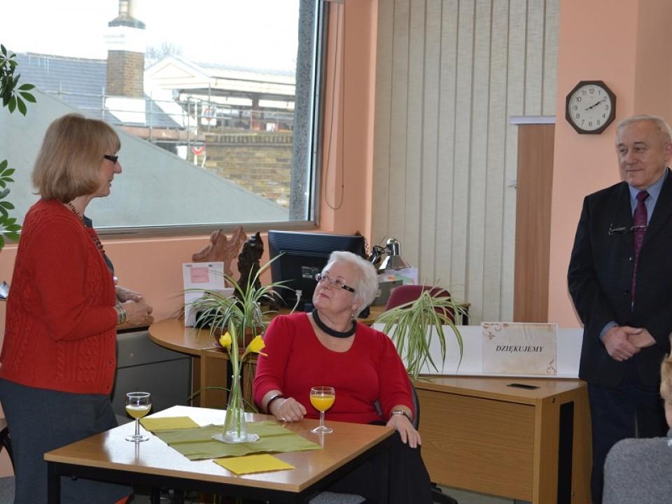 Spotkanie osób wspierających działalność Biblioteki Polskiej POSK