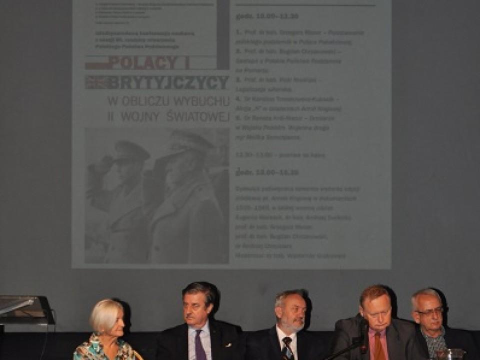 Polacy i Brytyjczycy w obliczu II wojny światowej