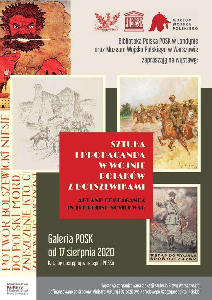 Sztuka i propaganda w wojnie Polaków z bolszewikami