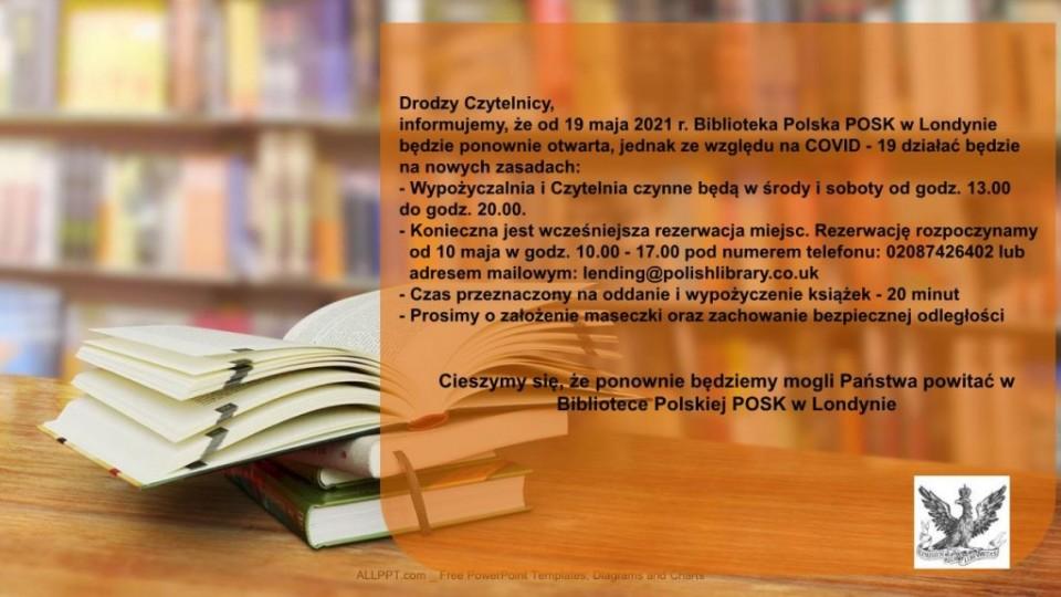 Biblioteka Polska otwarcie